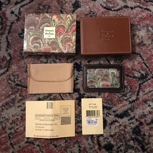 Dooney & Bourke Leather Card Holder